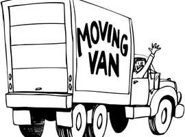 Man and a Van Removal Service, Luton Box Van, Single Items Moved