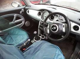 Mini Cooper, 2003 (53) Red Hatchback, Manual Petrol, 1,000 miles