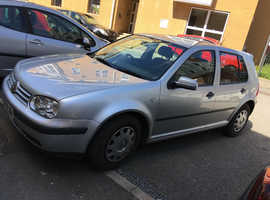 Volkswagen Golf, 2001 (Y) Silver Hatchback, Manual Petrol, 106,500 miles. REPAIR