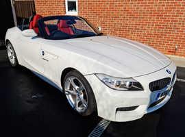 BMW Z SERIES, 2012 (12) White Convertible, Manual Petrol, 34,869 miles