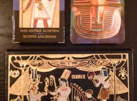 4 Packs Of 'Ancient Egypt' Playing Cards