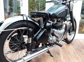 1952 BSA A7 Star Twin 500 plunger single classic motorcycle