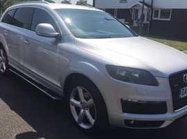 Audi Q7, 2007 (57) Silver Estate, Automatic Diesel, 88,000 miles
