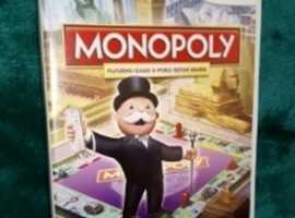 Nintendo Wii Monopoly Game