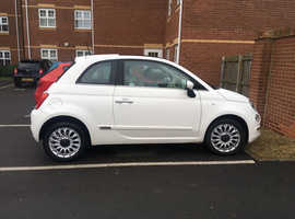 Fiat 500, 2017 (17) White Hatchback, Manual Petrol, 28,748 miles