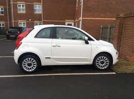 Fiat 500, 2017 (17) White Hatchback, Manual Petrol, 30,000 miles