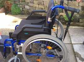 Power assistance  Enigma XS Standard Aluminium Wheelchair - Self Propelled