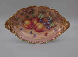 WANTED !!  Royal Worcester hand painted fruit items