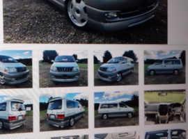 Toyota grand hiace prestige edition ltd /day tourer/camper