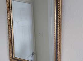 Gilt Framed - Bevelled Mirror