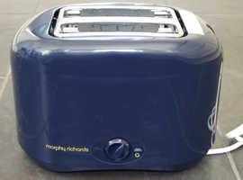 Toaster - Morphy Richards - Blue - Unused