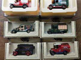 Model vehicles For Walker's Crisps