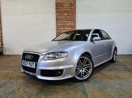 Audi RSA4, 2007 (07) Silver Saloon, Manual Petrol, 72,840 miles