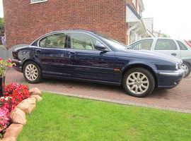 Jaguar X-TYPE, 2001 (Y) Blue Saloon,  Manual, 2.5  Petrol, 57,000 miles