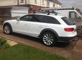 Audi A4, 2010 (10) White Estate, Manual Diesel, 82,242 miles price reduced