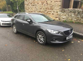 Mazda MAZDA 6, 2016 (66) Grey Estate, Manual Petrol, 48,000 miles
