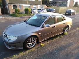 Saab 9-3, 2005 (05) Grey Saloon, Manual Petrol, 137,000 miles