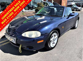 Mazda MX-5, 2003 (03) Blue Convertible, Manual Petrol, 120,040 miles