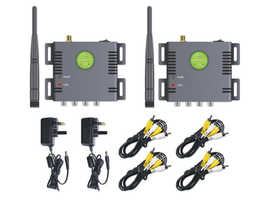 Long Distance Digital Wireless Video Audio Transmitter Receiver Kit up to 1.2 Km