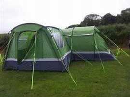 Kalahari 8 Berth Tent, With Awning & Many Extras
