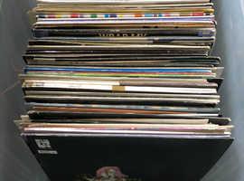 Joblot house vinyl records 140 trade swap GoPro camera air rifle etc