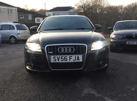 Audi A4, 2007 (56) Black Saloon, Manual Diesel, 141,000 miles