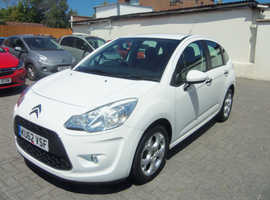 Citroen C3, 2012 (62) White Hatchback, Manual Petrol, 42,000 miles