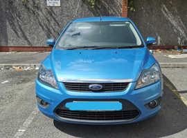 Ford Focus, 2010 (10) Blue Hatchback, Manual Diesel, 119,000 miles