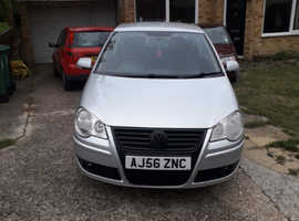 Volkswagen Polo, 2007 (56) Silver Hatchback, Manual Petrol, 100,009 miles