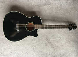 Crafter TRV-23 travel guitar - semi acoustic