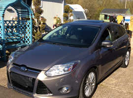 Ford Focus, 2011 (11) Brown Hatchback, Manual Diesel, 74,000 miles