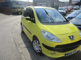 Peugeot 1007, 2005 (55) Yellow Hatchback, Manual Diesel, 112,723 miles