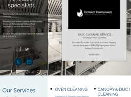 Commercial and domestic  kitchen cleaning service