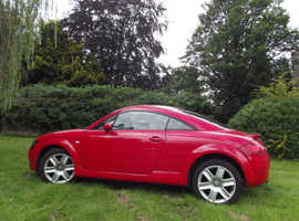 Audi TT, 2004 (54) Red Coupe, Manual Petrol, 150,000 miles