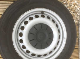 VW transporter tyres x 4. Good condition