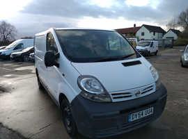 Nissan Primastar SWB, Work Van, Reliable