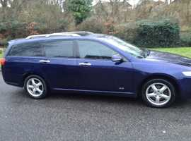 HONDA ACCORD 2.2 CTDI SPORT DIESEL ESTATE 2006 8 MONTHS MOT FULL SERVICE HISTORY CHEAP CAR TO RUN