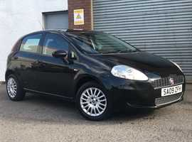 Fiat Grande Punto 1.4 Active, 5 Door, Black, Lovely Low 53,000 Miles, Excellent Service History