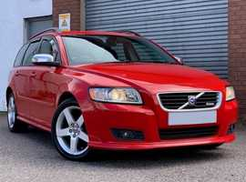 Volvo V50 1.8 Sport Tourer, 5 Door, Estate, Stunning in Red, Full Leather, Lovely Low Miles
