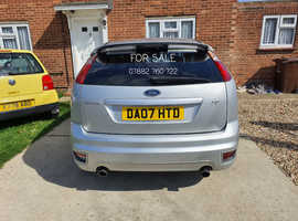Ford Focus, 2007 (07) Silver Hatchback, Manual Petrol, 118,222 miles