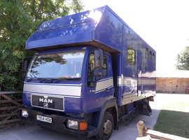 MAN Horse lorry