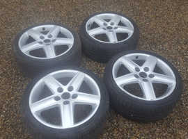 "Audi 17"" Alloy wheels with tyres"
