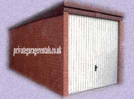 Rent Your Domestic Garage Circa £50 - £150 pcm