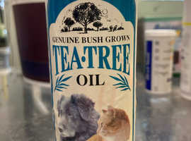 Tea Tree Oil Grooming Powder for  and