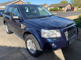 Land Rover Freelander, 2007 (57) Blue Estate, Manual Diesel, 135,000 miles