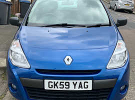Renault Clio, 2009 (59) Blue Hatchback, Manual Petrol, 50,225 miles