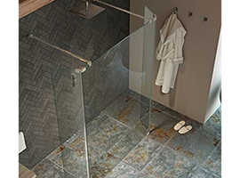 Shower Deflector Panels