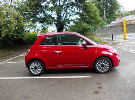 Fiat 500, 2014 (64) Red Hatchback, Manual Diesel, 28,000 miles