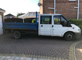Ford Transit Double Cab Tipper 55 Reg