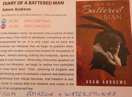 Diary of  a Battered Man by Adam Andrews (from Amazon)